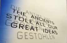 Mark Twain Quote (The ancients stole all our great ideas)