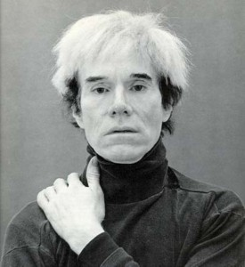 Andy Warhol on POP Fine Art