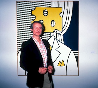 Roy Lichtenstein on POP Fine Art