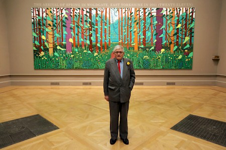 David Hockney on POP Fine Art