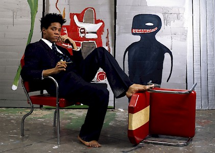 Jean-Michel Basquiat on POP Fine Art